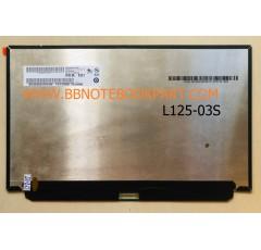 LED Panel จอโน๊ตบุ๊ค ขนาด 12.5 นิ้ว SLIM 30 Pin  Full HD 1920x1080 IPS   (แพรกลาง)