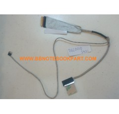 DELL LCD Cable สายแพรจอ Inspiron 14R 3421 2421 5421 5437 3437 5435 3437 M431 ( 50.4XP02.041 )