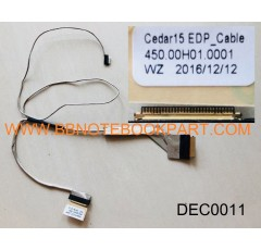 DELL LCD Cable สายแพรจอ  Inspiron 3542 3541 Inspiron 15 3000    (Version 1)  30 pin  450.00H01.0001