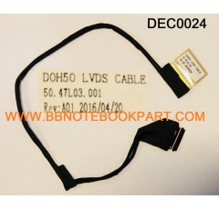 DELL LCD Cable สายแพรจอ  Inspiron  15-7000   15 7000 7537    50.47L03.001