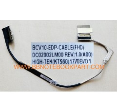 DELL LCD Cable สายแพรจอ  Inspiron 15R  15-7000 7566 7567  0VC7MX   DC02002LM00