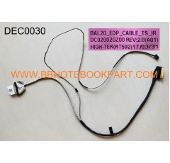 DELL LCD Cable สายแพรจอ   Inspiron 15-5565 15-5567   DC02002GZ00