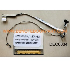 DELL LCD Cable สายแพรจอ  Inspiron 13 7347 7348 7352 7359 (30 pin)  450.01V04.1001