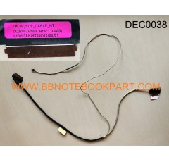 DELL LCD Cable สายแพรจอ  Inspiron 15-5000 15-5570  (30 pin)   DC02002VB00