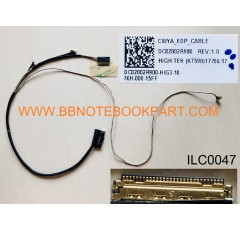 Lenovo IBM  LCD Cable สายแพรจอ   Yoga 520 520-14IKB / Flex 5- 1470   DC02002R900