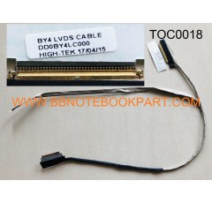 TOSHIBA LCD Cable สายแพรจอ Satellite M800 M840 M845      DD0BY4LC000