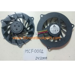 HP COMPAQ  CPU FAN พัดลม Pavilion DV2000  /  V3000  V3500  V3600  V3700 (Version 1)