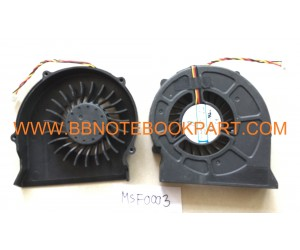 MSI CPU FAN พัดลม  CR420 CR420MX CR600 EX620 CX620MX CX420